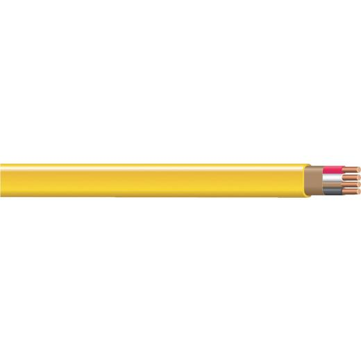 Romex 100 Ft. 12-3 Solid Yellow NMW/G Wire